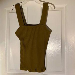 Madewell sweater tank top